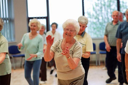 Dancing shows health benefits for seniors